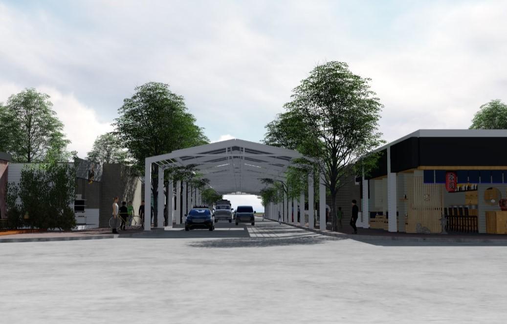 Proyecto: Calle Techada